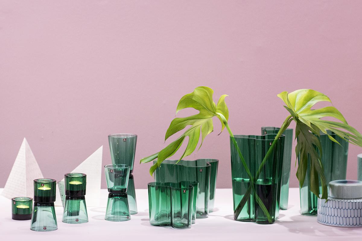 Min dag i 10 bilder – Iittala, rosa och grönt – Husligheter