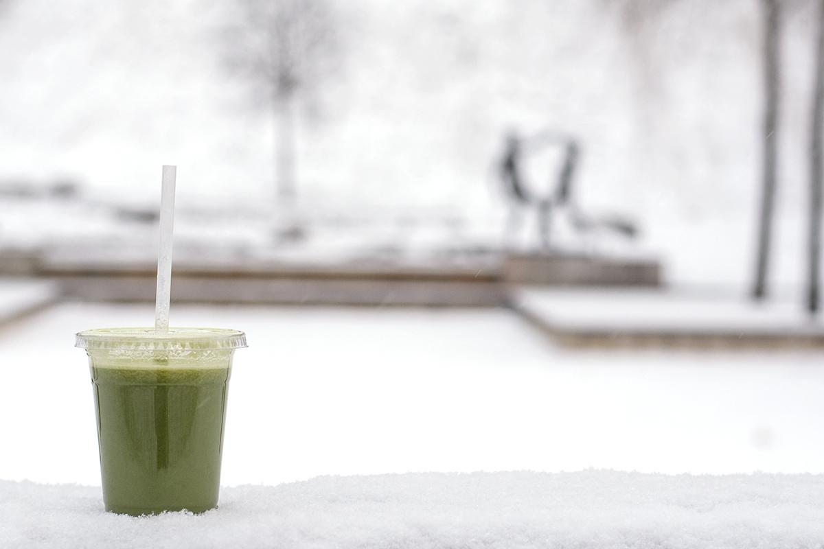 Min dag i tio bilder – grön juice från Olssons juice – Husligheter
