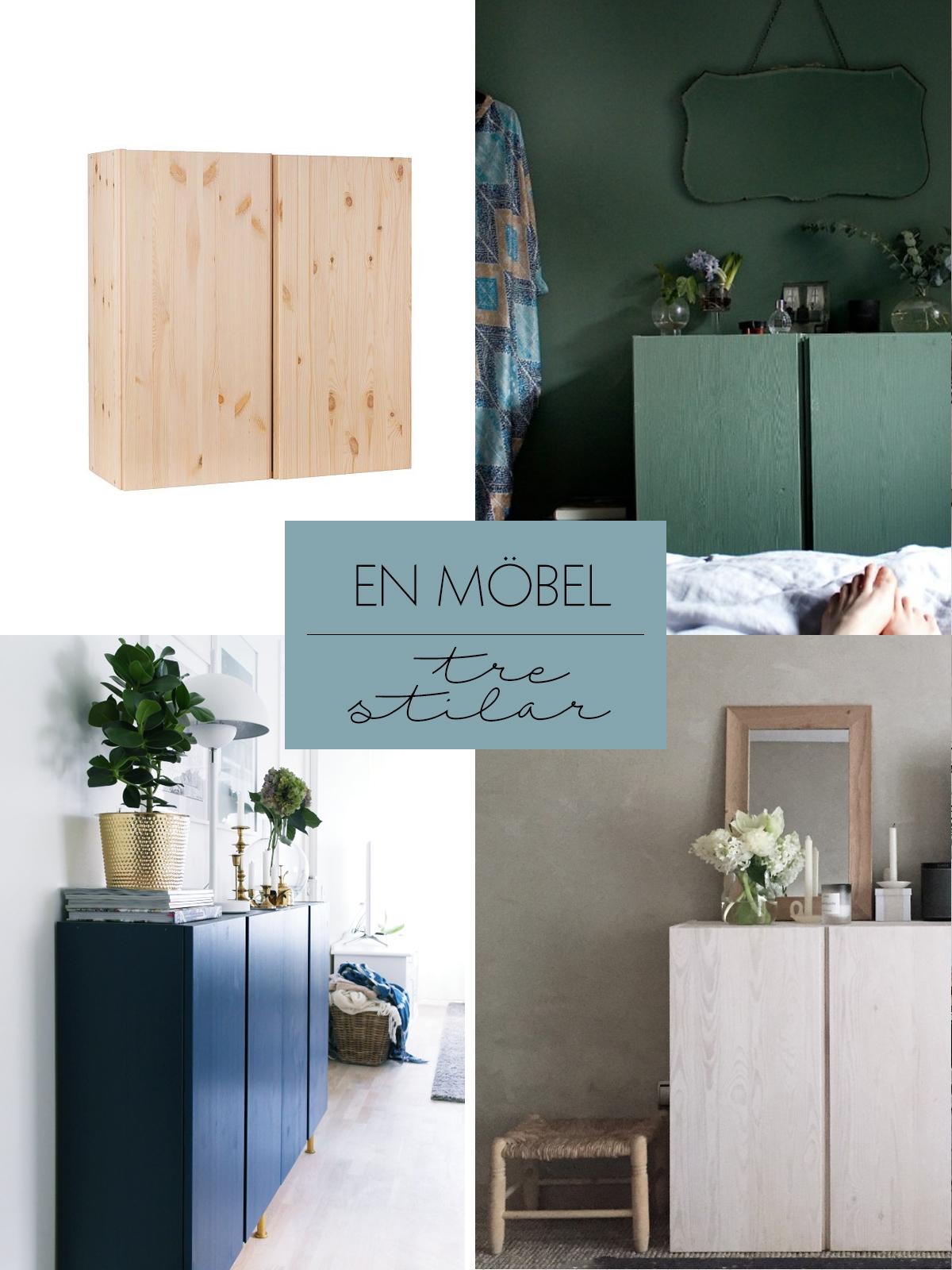 Ivar skåp från IKEA på tre olika sätt – Husligheter