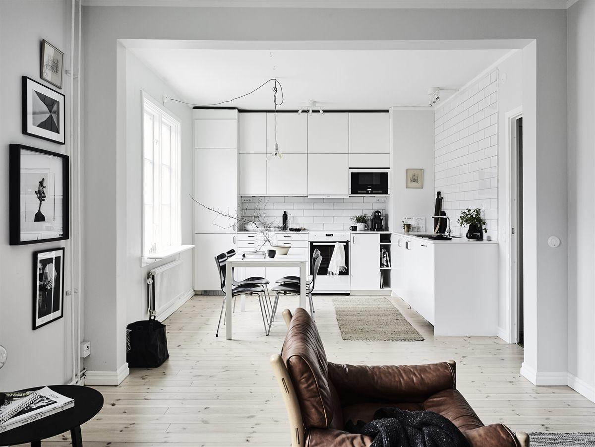 Häng tavlor med rak högerkant – 55 kvadrat – Husligheter