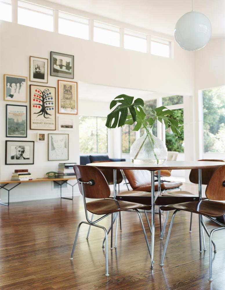 Monstera, gallery wall, modern retro - Husligheter