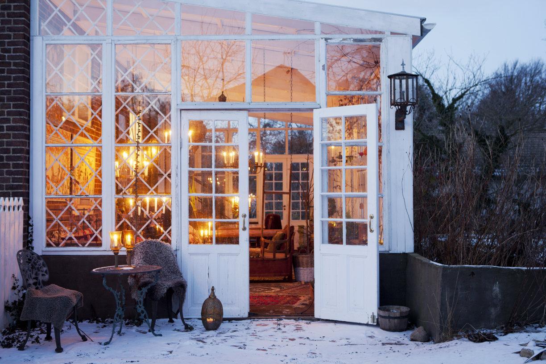Glasdörrar, orangeri och spröjs på Villavägen 3, Åkarp (Bolaget) – Husligheter