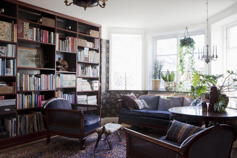 Bibliotek på Villavägen 3, Åkarp (Bolaget) – Husligheter