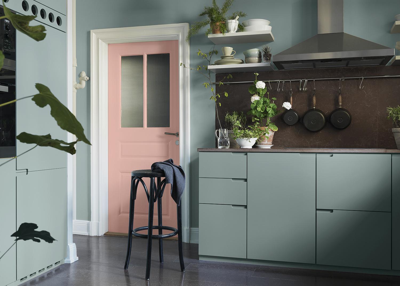 Måla köket ton i ton med väggen – Alcro – Husligheter