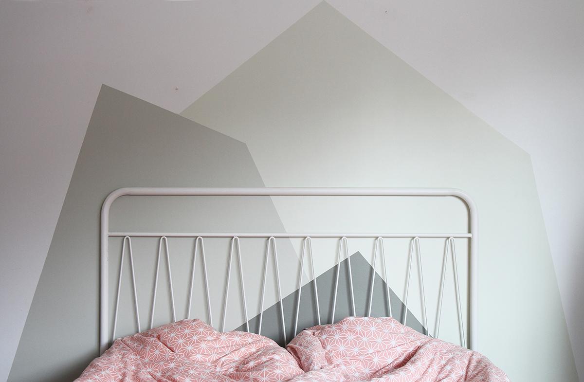 Målartips – sänggavel – Hej Regina – Husligheter