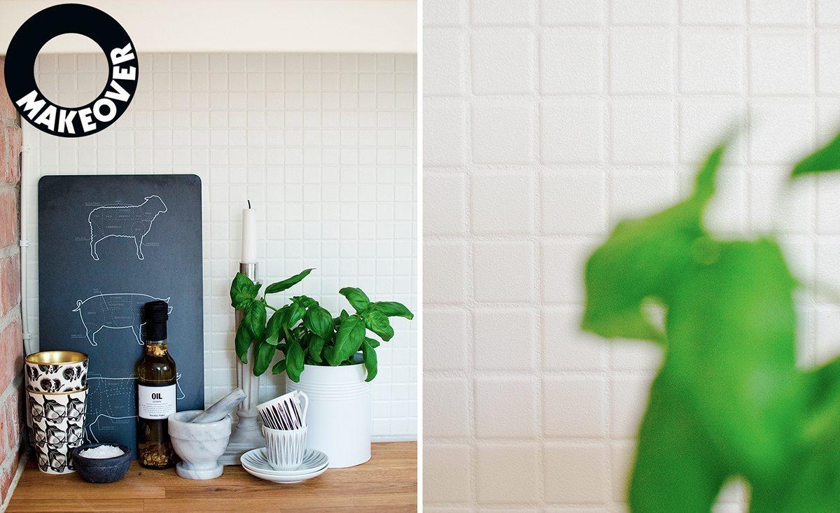 Budgetrenovera köket – måla på kakel, klinker och mosaik – Husligheter