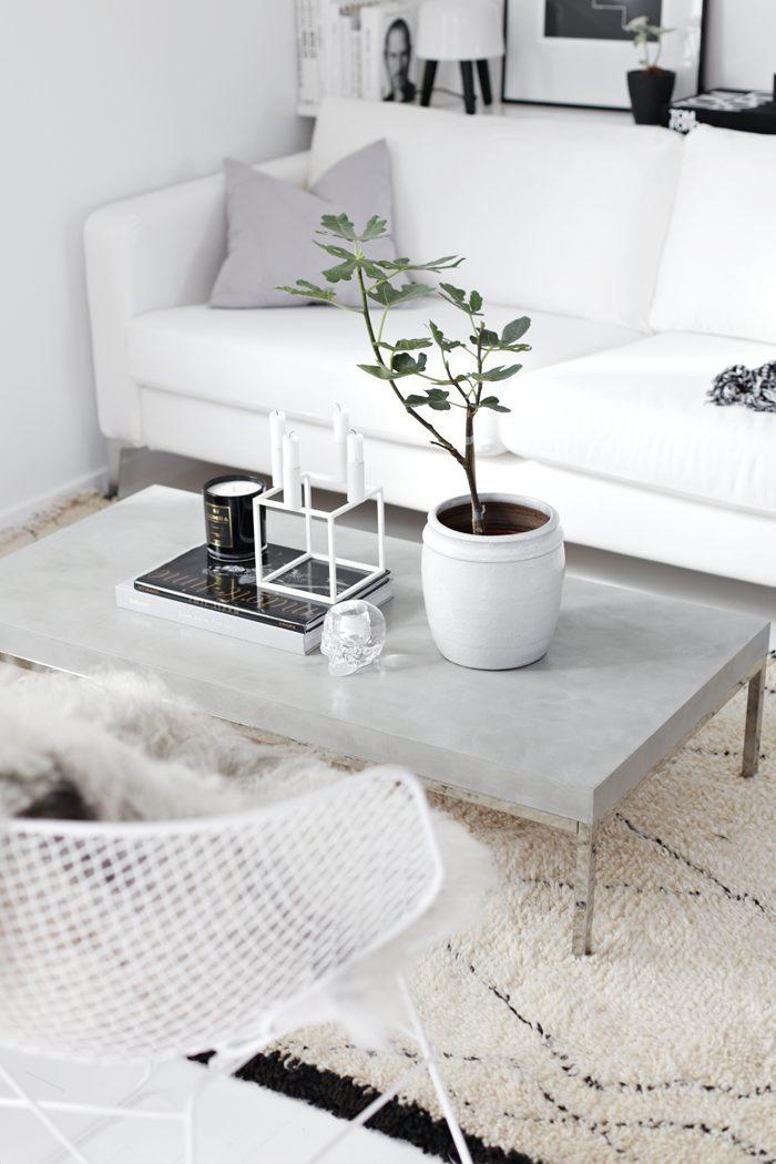 DIY betongbord – Stylizimo – Husligheter