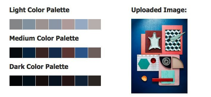 Moodboard färgpalett CSSdrive – Husligheter