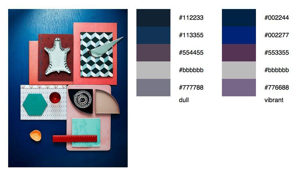 Moodboard färgpalett Degraeve – Husligheter