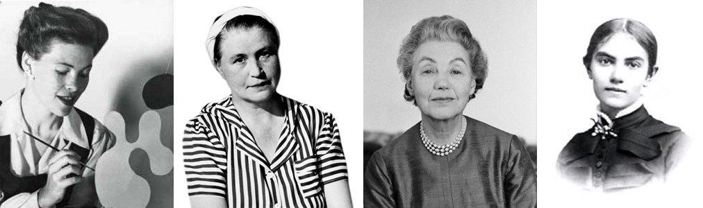 Ray Eames, Aino Aalto, Estrid Ericson och Karin Larsson – otroligt talangfulla kvinnor som tyvärr alltid hamnat lite i skuggan av sina talangfulla män.