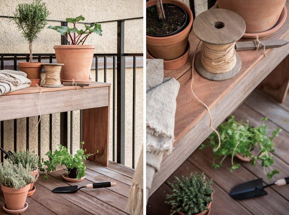 Fixa odlingsbänk på balkongen. Inspiration från Alvhem – Husligheter