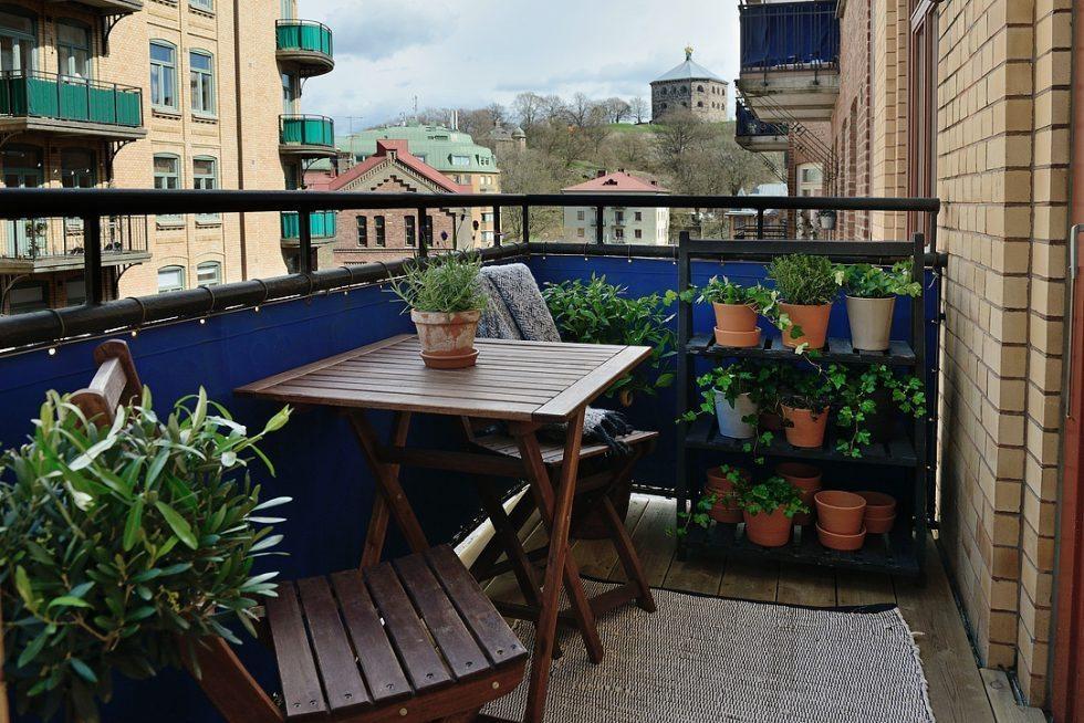 Plantering på balkongen. Inspiration via Alvhem – Husligheter