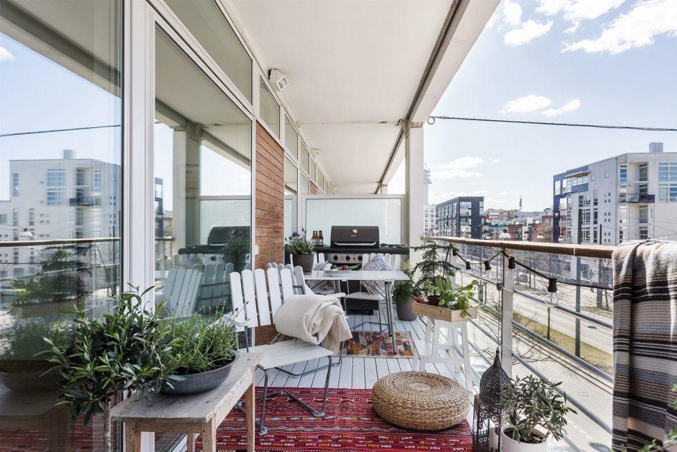 Grill på balkongen. Inspiration via Fantastic Frank – Husligheter
