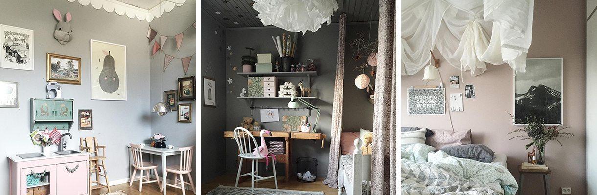Färgkod Studioelwa Elin Wallin barnrum sovrum – Husligheter