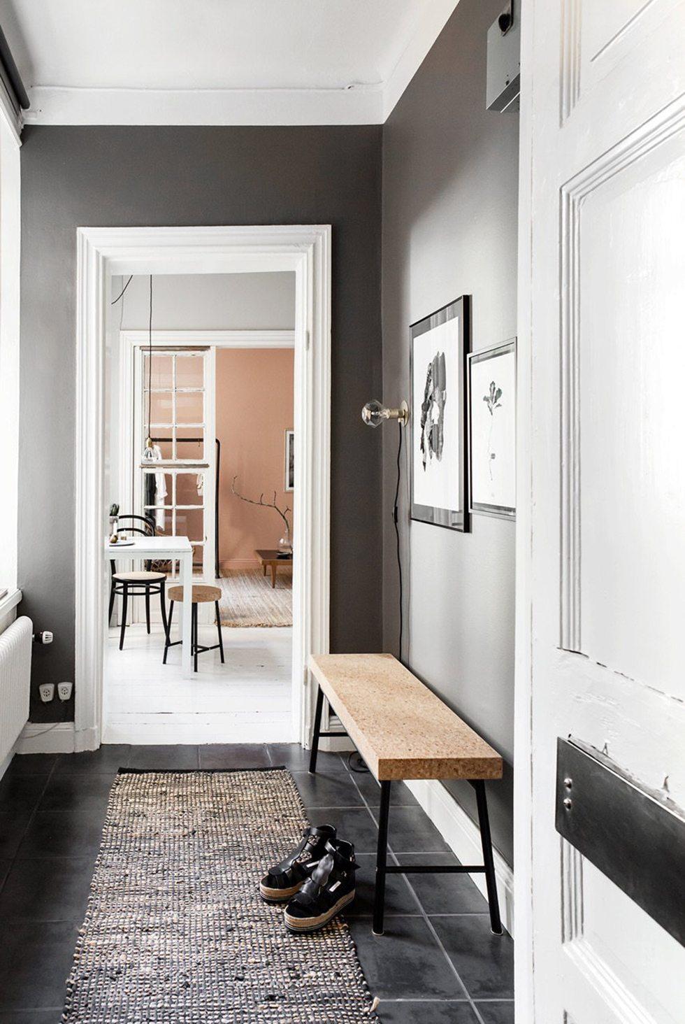 Inreda hall – bänk Sinnerlig IKEA – Husligheter