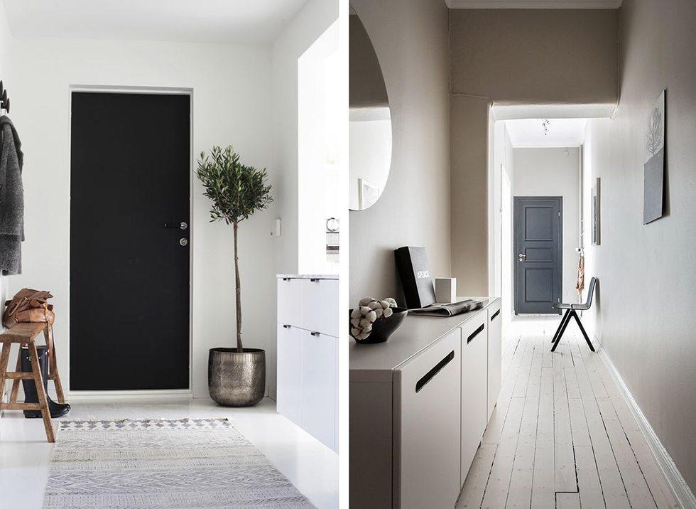 Inreda hall - måla ytterdörren – Husligheter