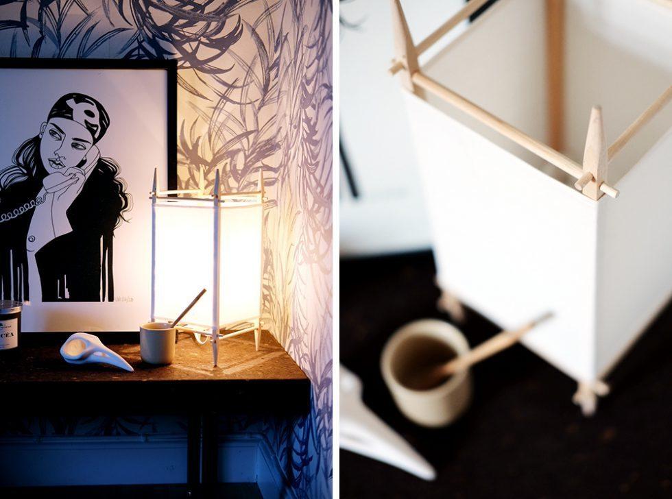 Lampa Pinna av Hilding Lögdberg, foto Maria Soxbo/Husligheter