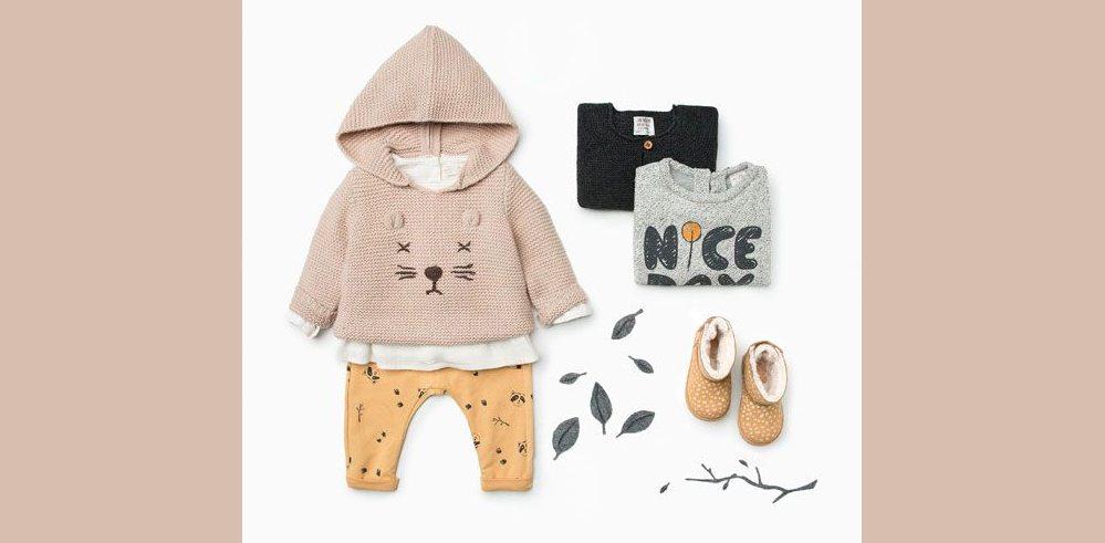 Urvuxna babykläder kan göra någon nybliven mamma väldigt glad! Foto: Gammal kampanjbild från Zara.