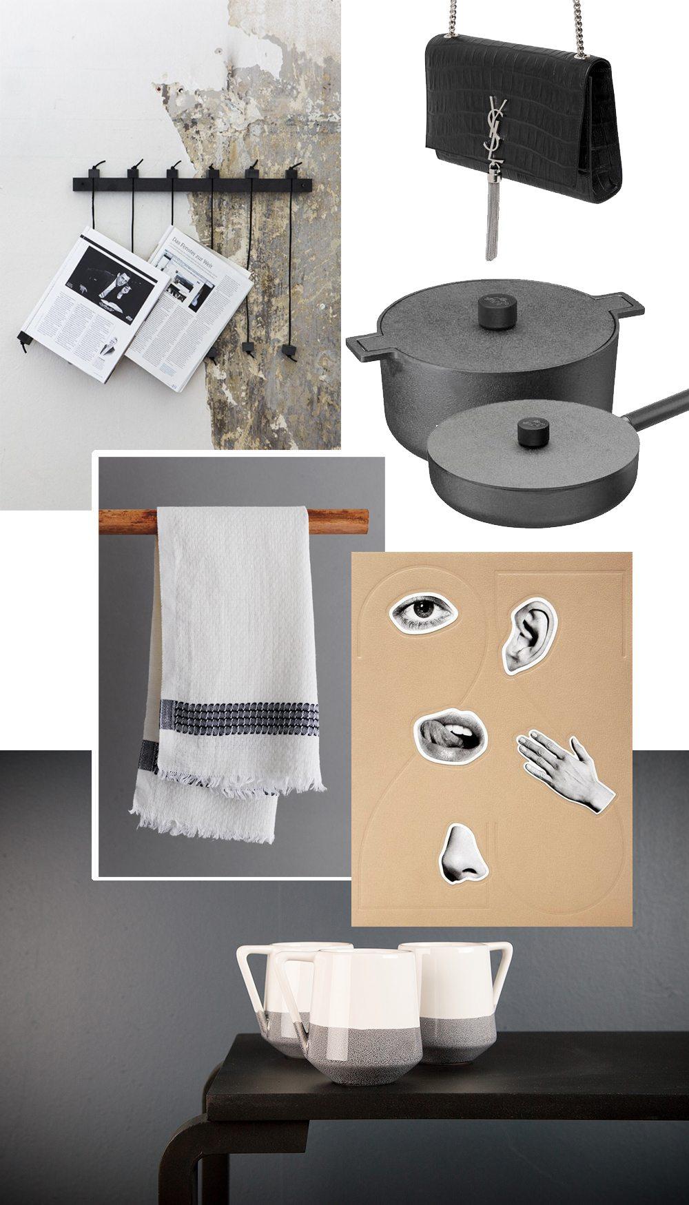Önskelista med Saint Laurent-väska, gjutjärnsgryta, 25 magazine, hammamhandduk, tidningshållare och Emma Green koppar – Husligheter