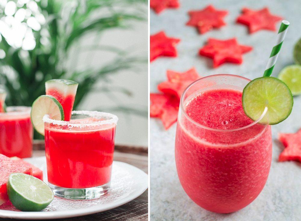 Recept på margarita och daiquiri med vattenmelon – Husligheter