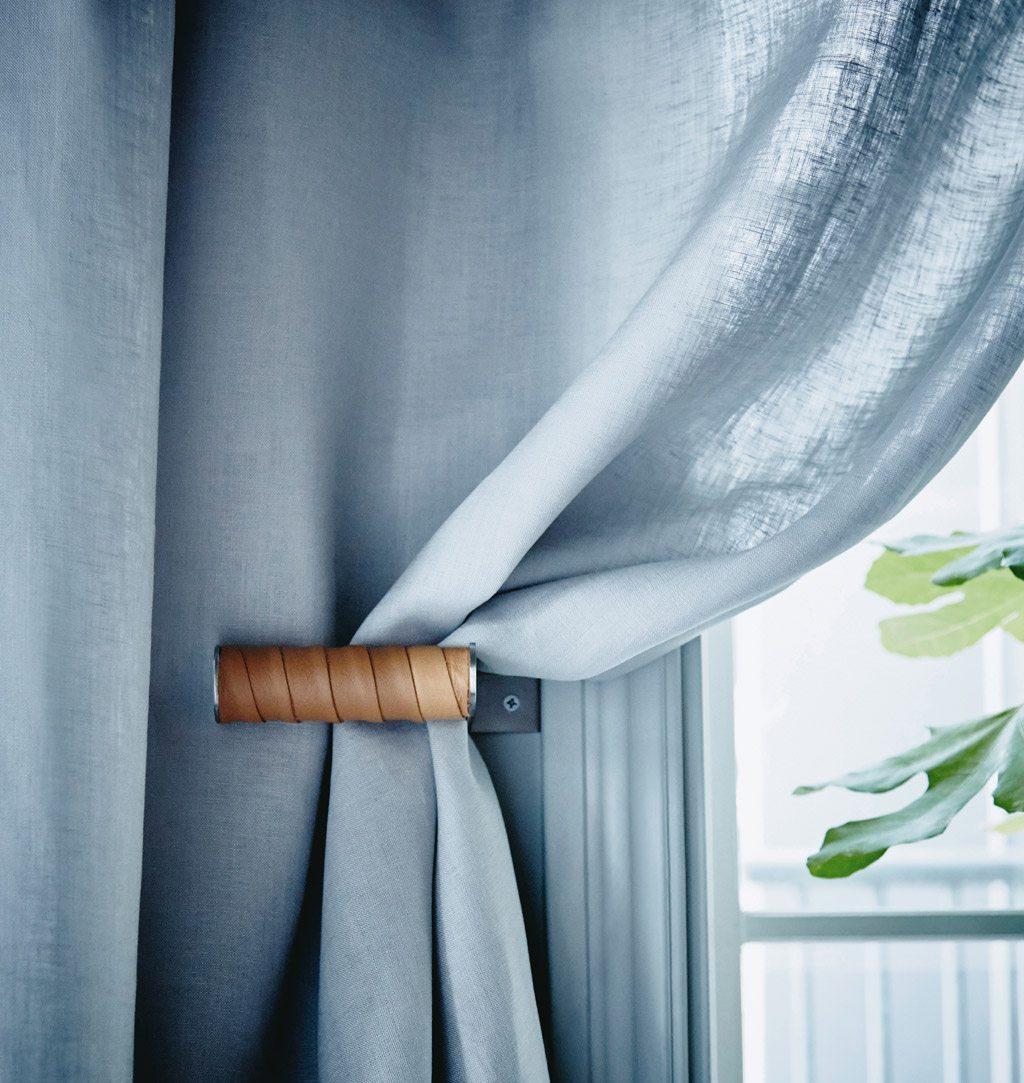 IKEA-hack Grundtal toarullshållare blir draperihållare – Husligheter