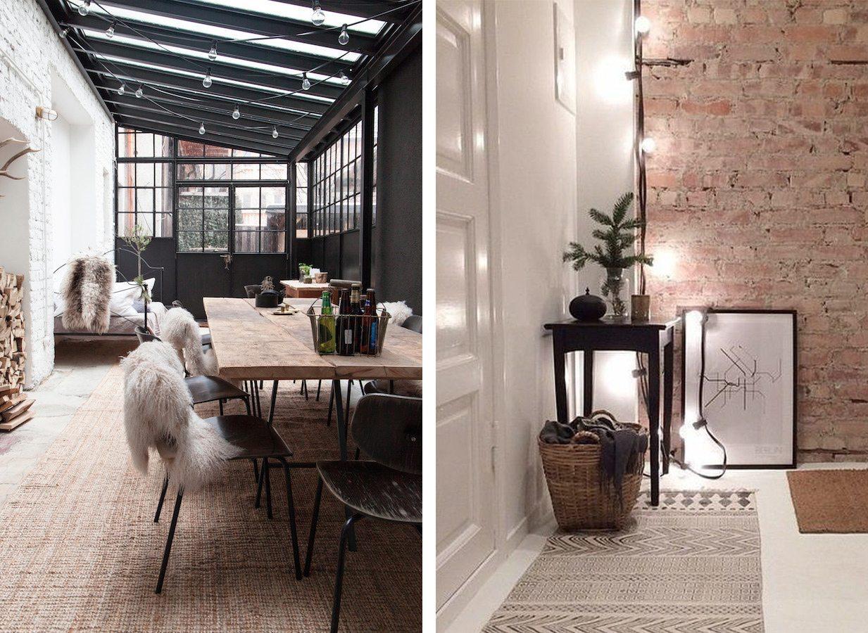 Ljusslinga inomhus – Husligheter