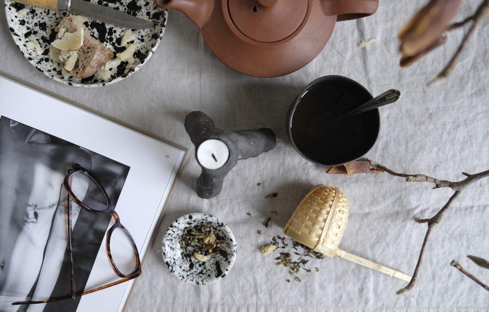 Stänkmålat porslin – Annie Lindgren – Husligheter