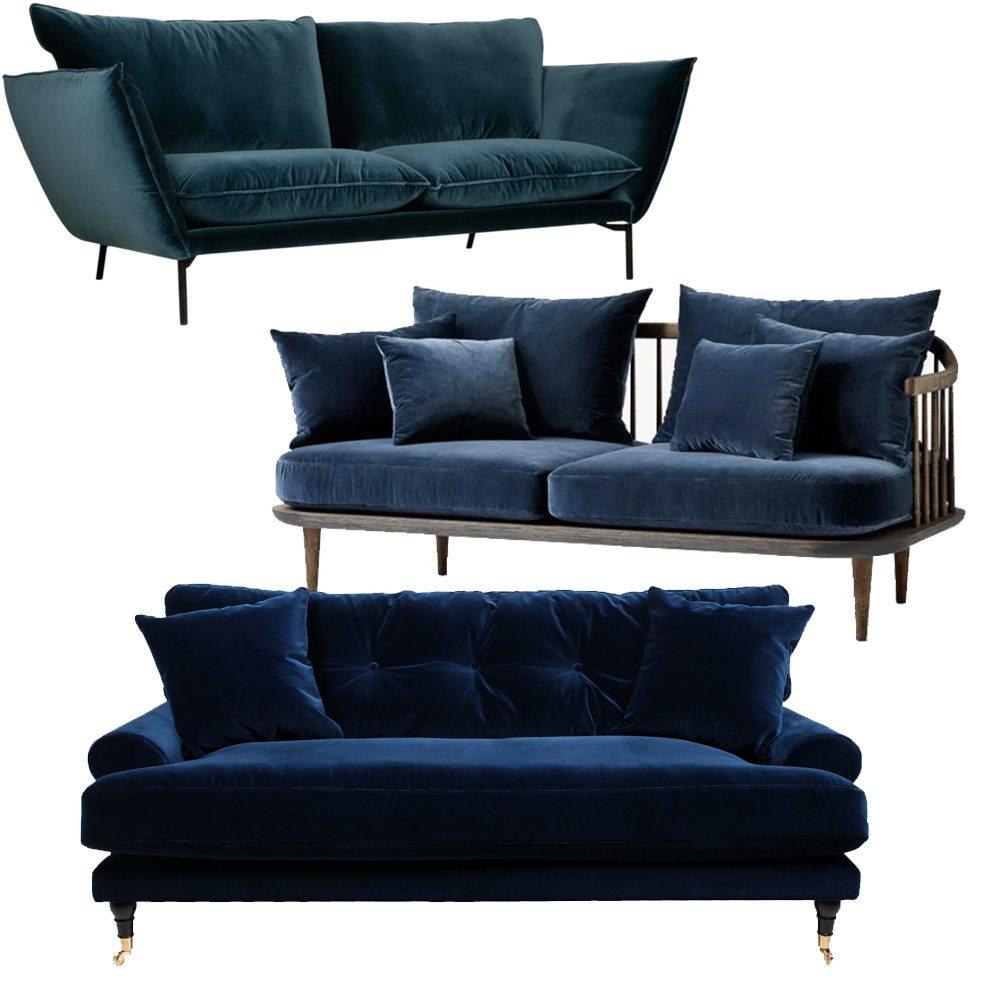 Blå sammetssoffa – Husligheter