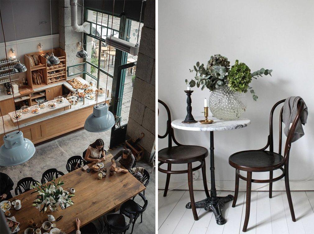 Kafémöbler i bistrokök – Husligheter