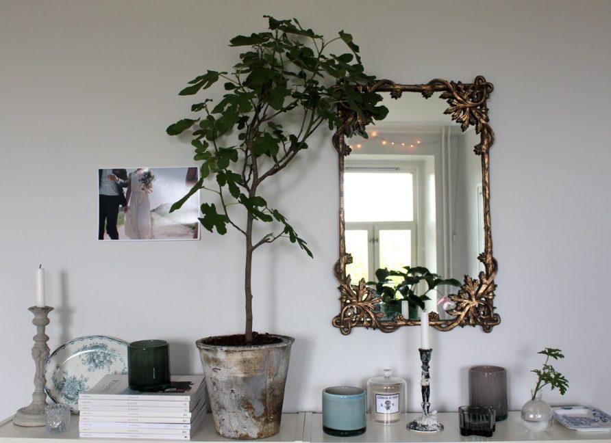 Spegel över sideboard – Johanna Bradford – Husligheter
