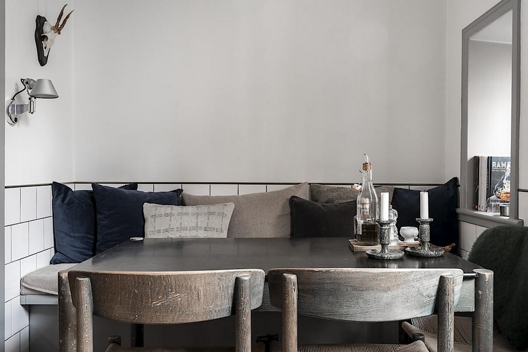 Fräscha Platsbygga sittbänk i köket – skapar plats, förvaring och stil XX-03