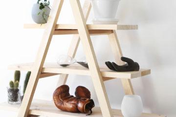 DIY hylla av stegar och plankor – Hemmafixbloggen – Husligheter