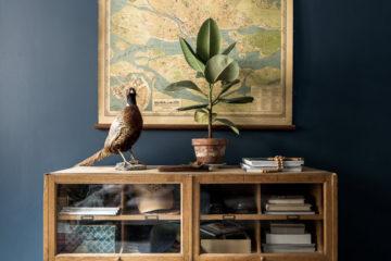 Lägenhet i blått – Historiska hem – Husligheter