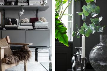 Hemma hos Lotta Agaton, grå väggar – Husligheter