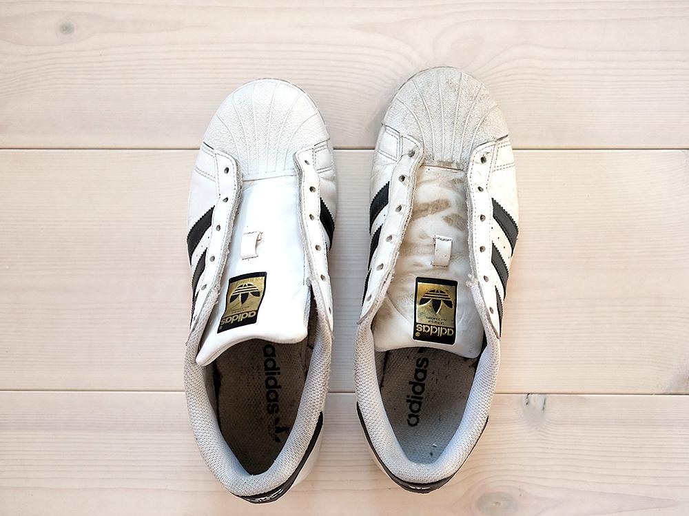 gymnastikskor bäst älskade klassisk Rädda kläder som krympt i tvätten (och rengör vita sneakers)