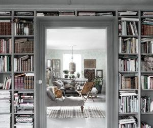Villa Dalarö/Sandberg och Mari Strenghielms bokhylla – Husligheter