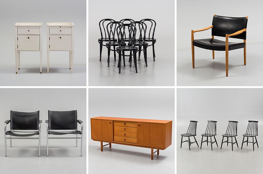 IKEA-möbler hos Bukowskis