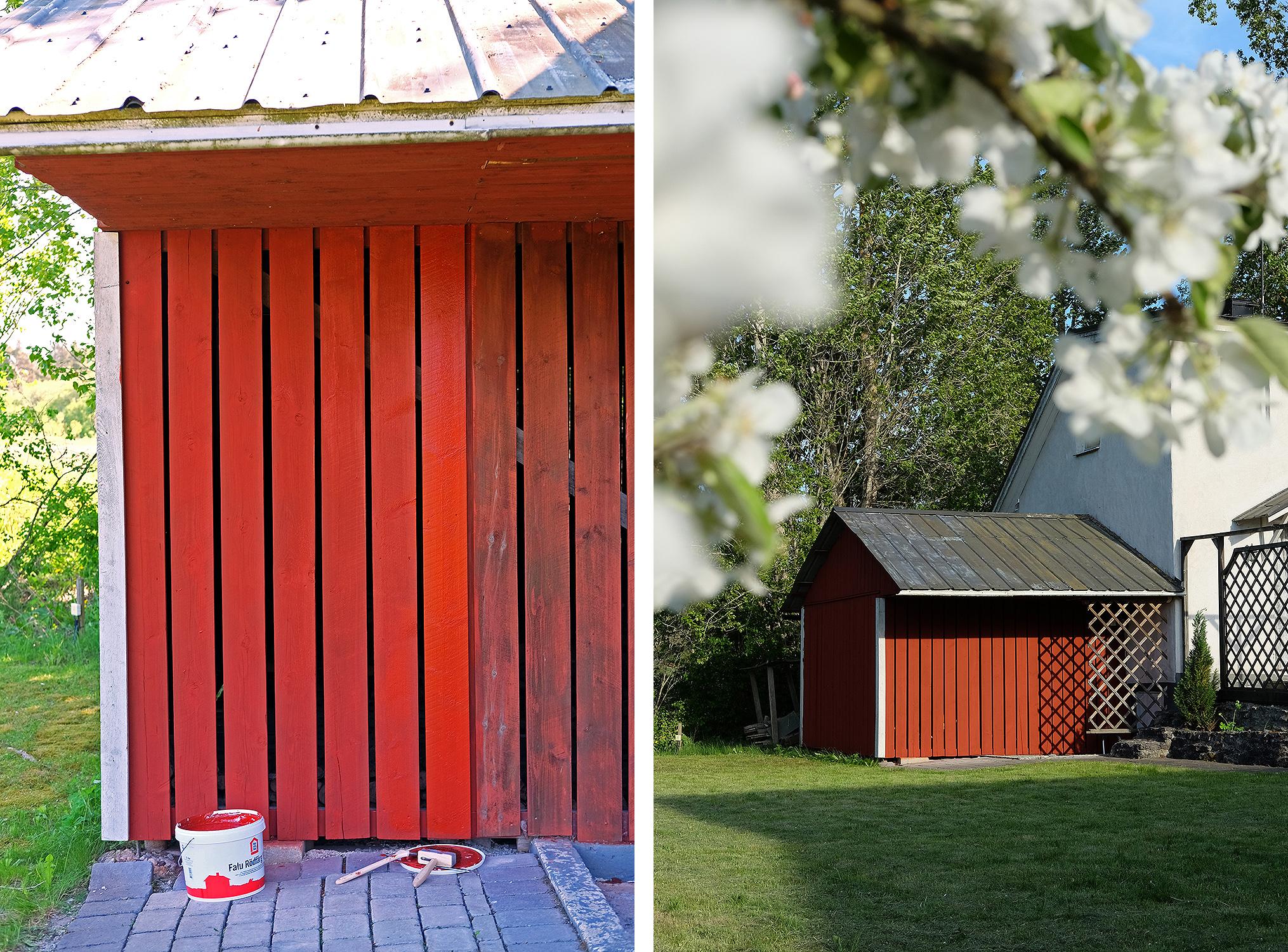 Splitter nya Att måla med en svensk klassiker – så målar man med Falu Rödfärg PV-02