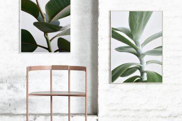 Tunn ekram / träram från Papercollective – Husligheter