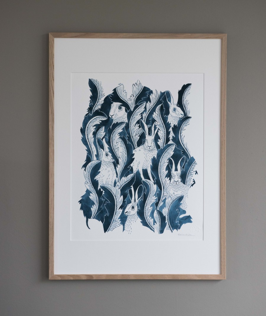 Emma von Brömssen konsttryck – Husligheter