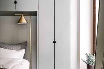 garderobslösning i sovrum