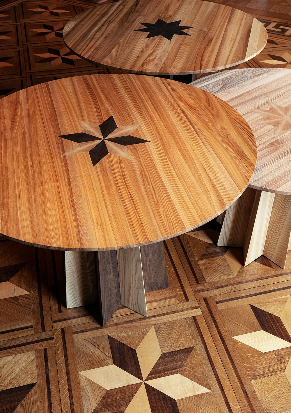 De här overkligt fina borden är tillverkade av Tre sekels möbelsnickare d0470e389e5a3