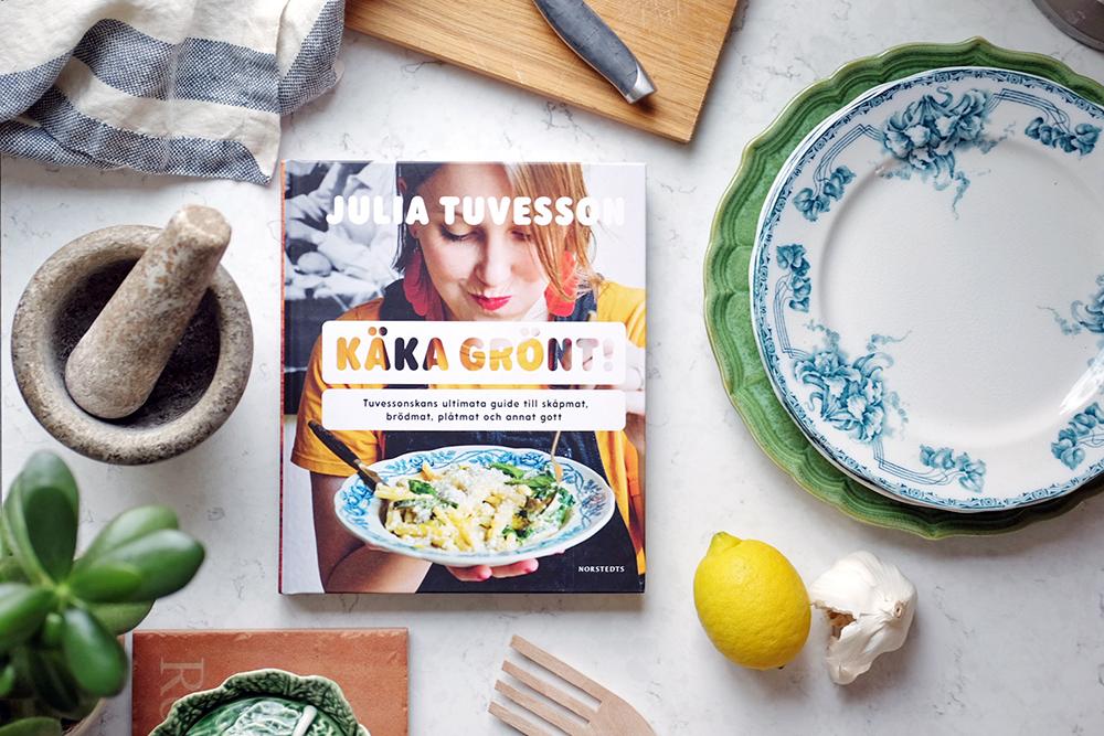 Käka grönt – en vegokokbok att börja med